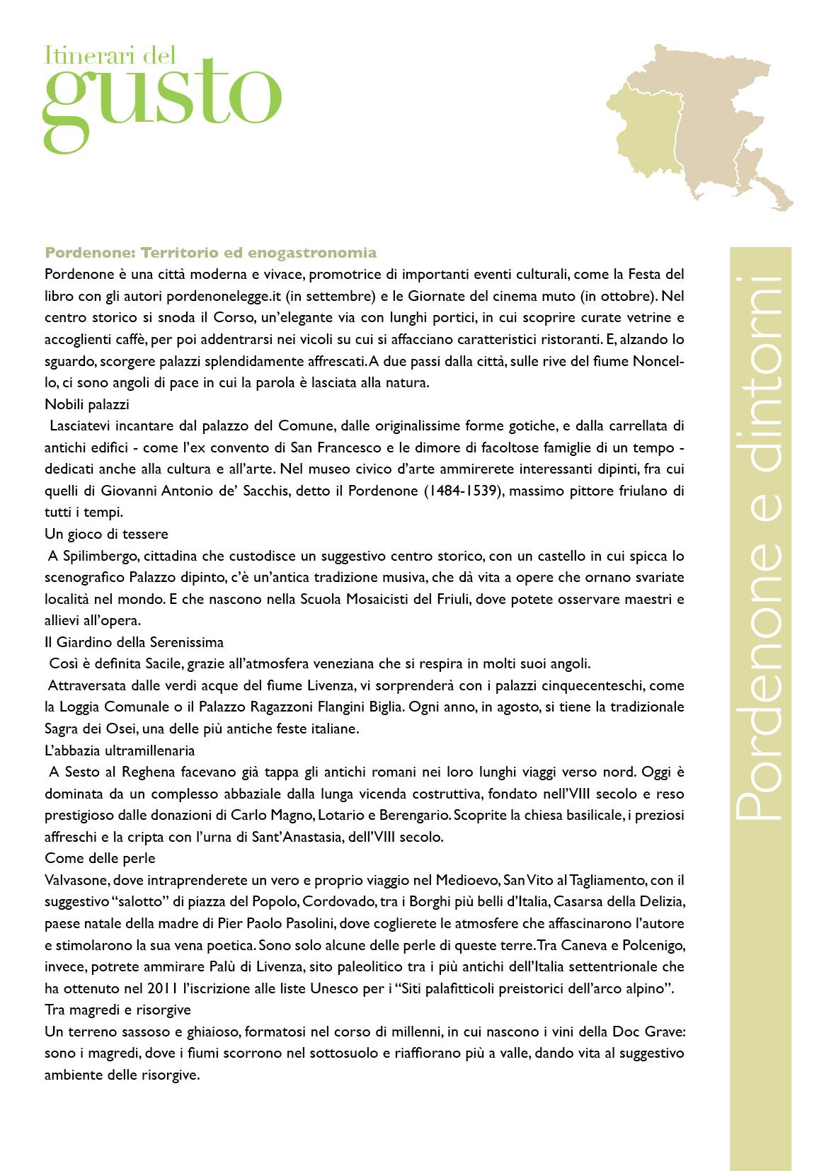 ITINERARI DEL GUSTO 2018-19 pagine singole84